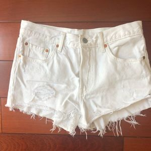 Levi's Shorts - Various colors of Levi's high waisted 501 shorts